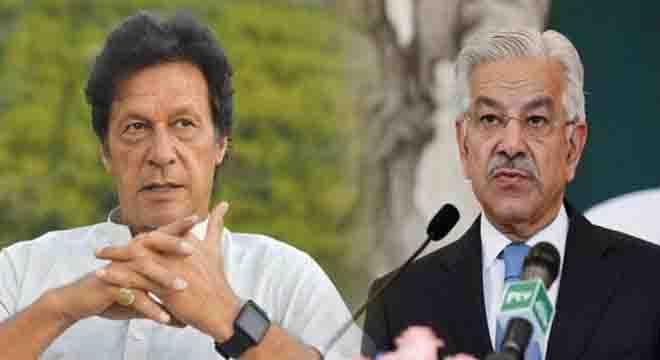 ہم کسی بیرونی قوت سے عمران خان کو ہٹانے کا مطالبہ نہیں کر رہے،خواجہ آصف نے واضح کر دیا