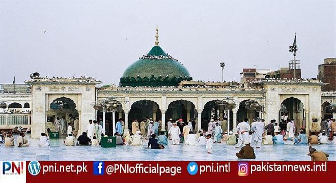 لاہور، حضرت داتا گنج بخش رحمتہ اللہ علیہ کے977ویں سالانہ عرس مبارک کی تقریبات کے سلسلہ میں غسل کی تقریب