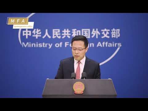 گوادر بندرگاہ خطے کے ملکوں میں رابطے، اقتصادی ترقی میں اہم کردار ادا کرے گی، ترجمان چینی وزارت خارجہ