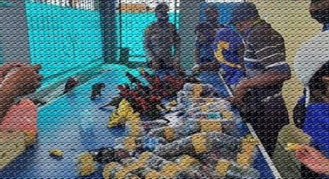پلاسٹک کی بوتلوں میں بند کر کے طوطے اسمگل کرنے کی کوشش ناکام، کتنے طوطے زندہ نکلے؟ حیرت انگیز خبر
