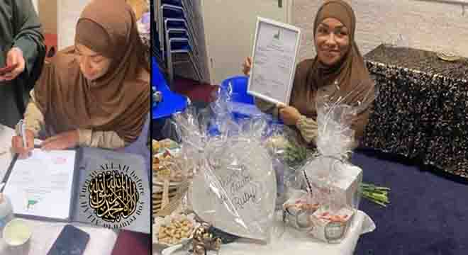 ہالینڈ کی عالمی شہرت یافتہ کک باکسر لیڈی ٹائسن نے اسلام قبول کر لیا