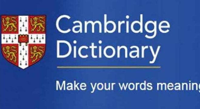 اردو کا سب سے زیادہ بولنے والا لفظ کیمبرج ڈکشنری میں شامل کر لیا گیا، ورڈ آف دی ایئر کون سا لفظ قرار دیا گیا؟