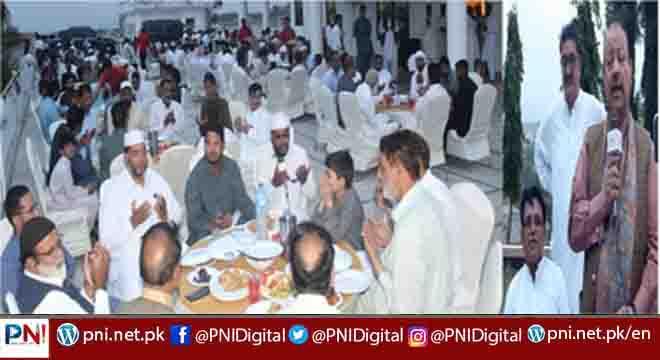 چوہدری وحید پوٹھی کی طرف سے بیرسٹرسلطان محمود چوہدری کے اعزاز میں شاندار افطار ڈنر