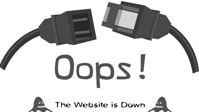 معروف عالمی ویب سائٹس کا بریک ڈاؤن<br>صارفین کو شدیدپریشانی کا سامنا