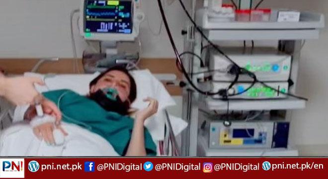 حریم شاہ ہسپتال میں داخل، ہسپتال بیڈ پر لیٹی ٹک ٹاک اسٹار کی ویڈیو وائرل